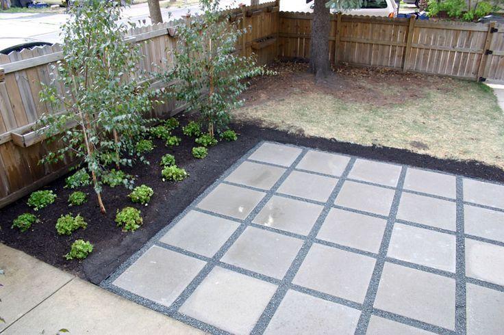 Concrete Square Patio Design Google Search Garden Time