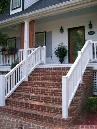 Brick Front Porch Steps | Ideas for the House | Pinterest ...