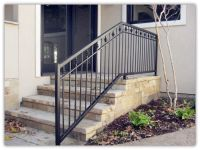 Rustproof Wrought Iron Railings Metal Railing Outdoor ...