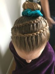 hairstyles gymnastics fade