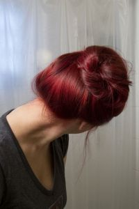 How To Dye Your Brown Hair Red Without Bleach If You're In ...