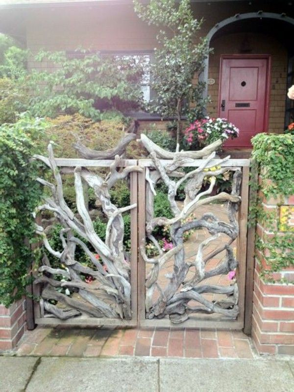 Garden Gate Garden Design Ideas Purple Giant Heart 600×800