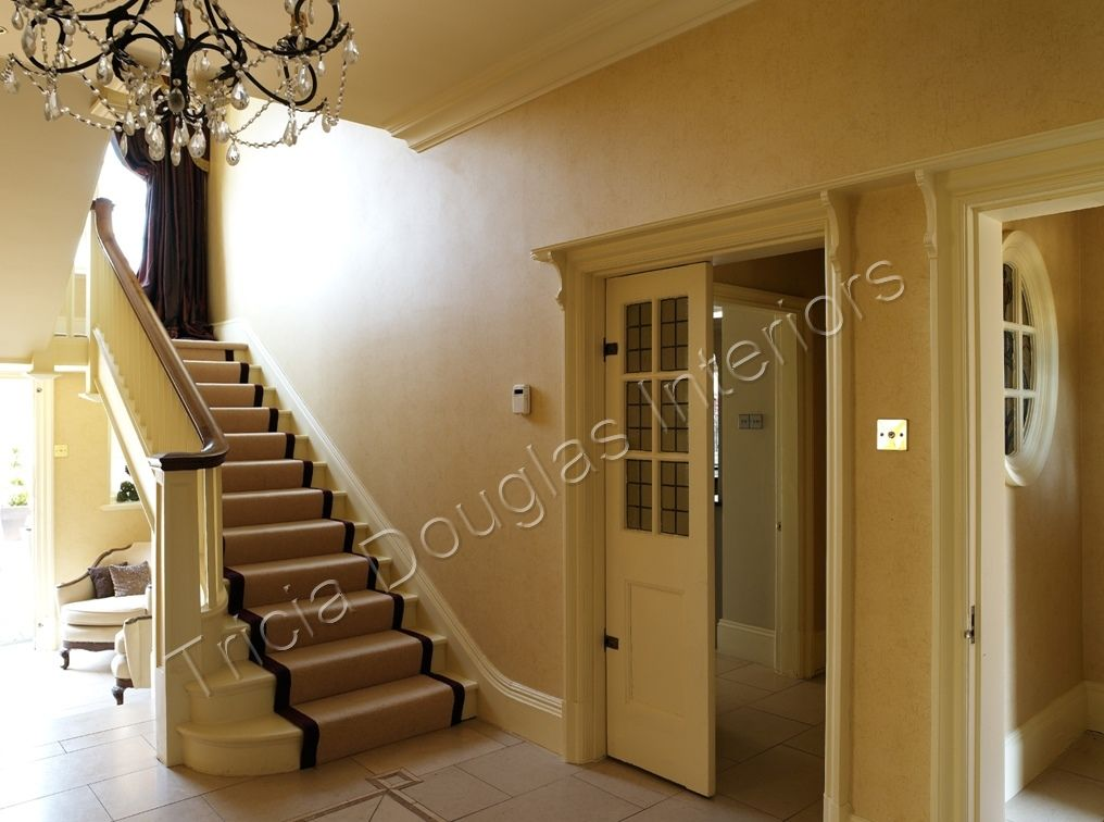 Edwardian House Renovation Staircase After Redesign By