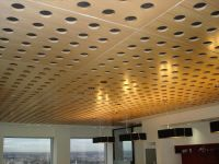 Acoustical Wood Veneer Ceiling Panels | Basement stufff ...