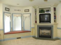 Corner Fireplace Mantels with TV Above | Fireplace ...
