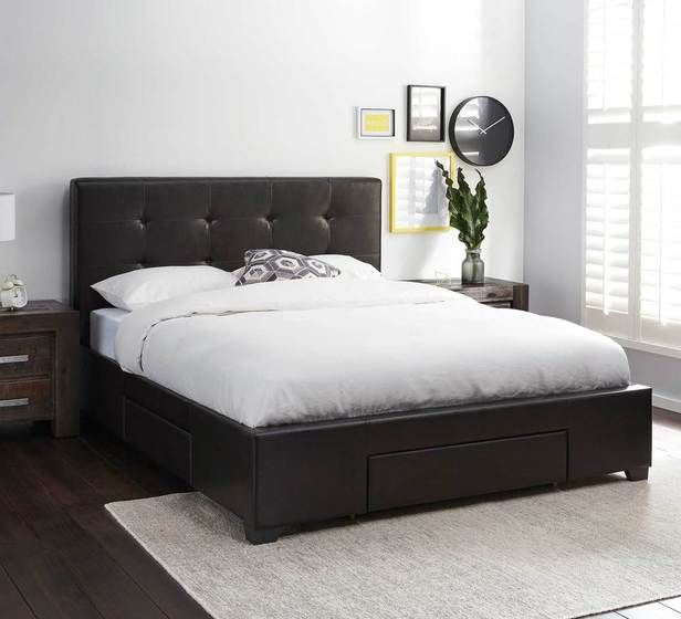 Modena Queen Bed With Storage Package Bedroom Mattresses Categories Fantastic Furniture