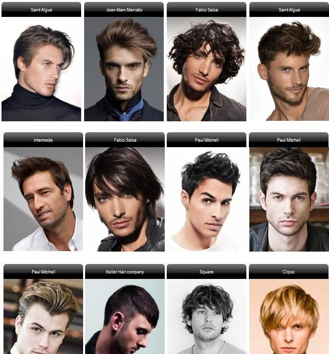 Mens Hair Styles Men's Hairstyle Pinterest Different Types