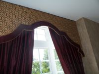 banded upholstered cornice designs - Google Search ...