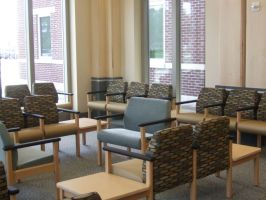 Medical office waiting room chairs for bariatric patients ...