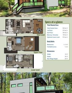Architectural designs modern house plan pd has  master bedroom on the top level with also home optional lower rh pinterest