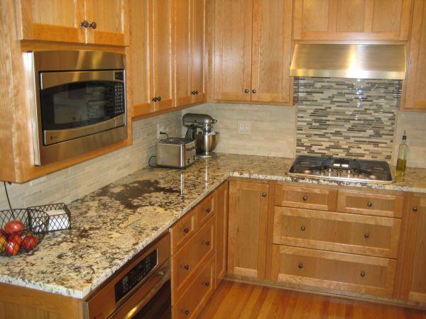 pinterest kitchen backsplash ideas Bianco Antico granite - like backsplash but not stove accent wall | Home | Pinterest | Granite