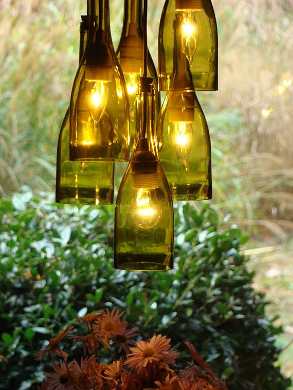Drink Up A Diy Chandelier For Wine