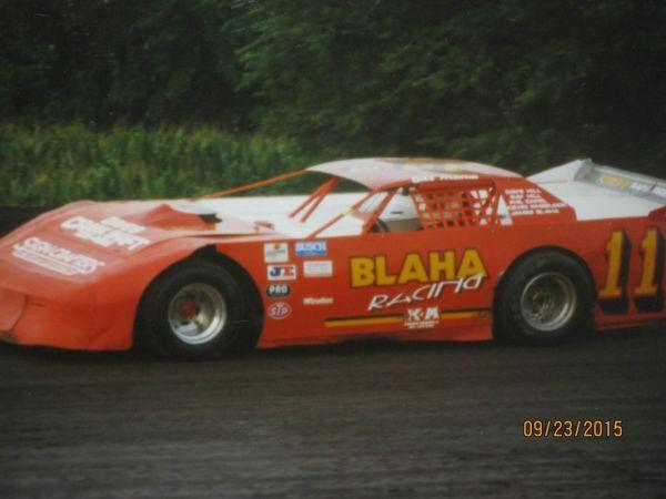 Vintage Dirt Late Model Racing Track