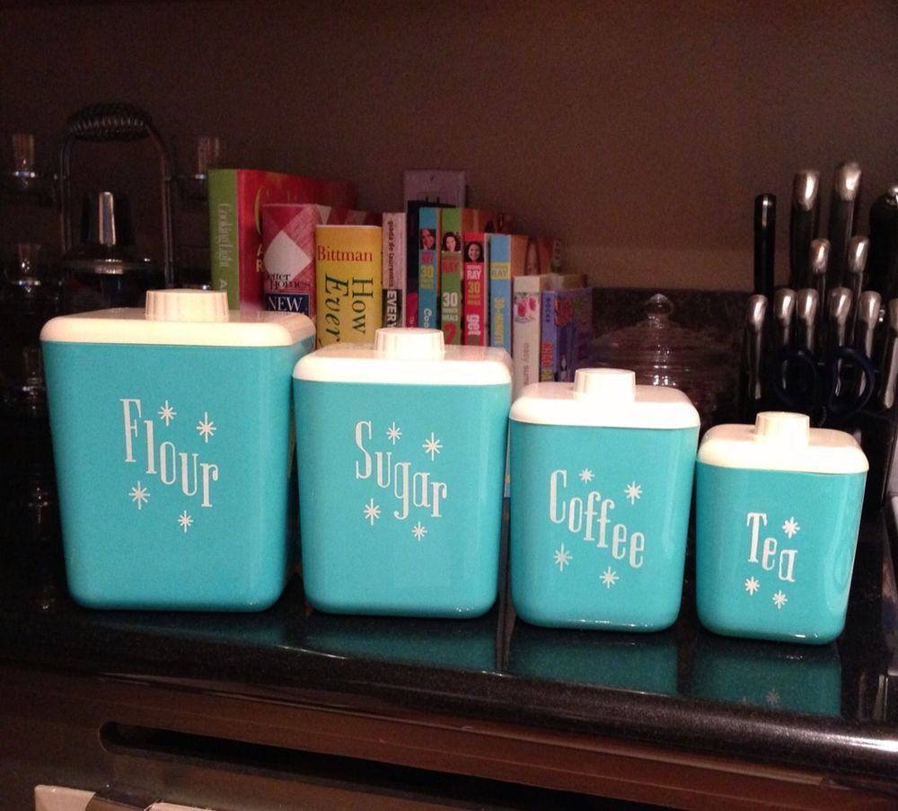 Target Turquoise Canisters