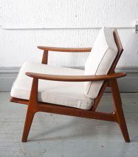 Mid Century Modern Danish Style Lounge Chair - 50s - 60s ...
