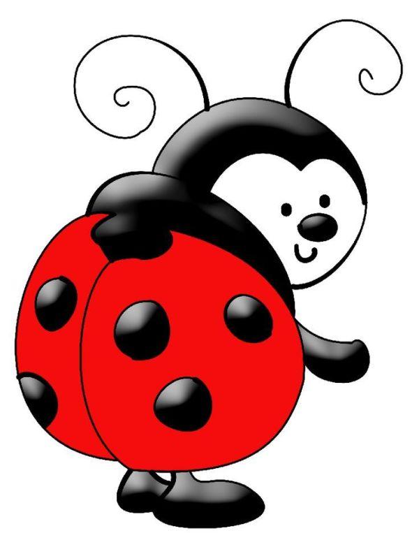 ladybug baby clip art