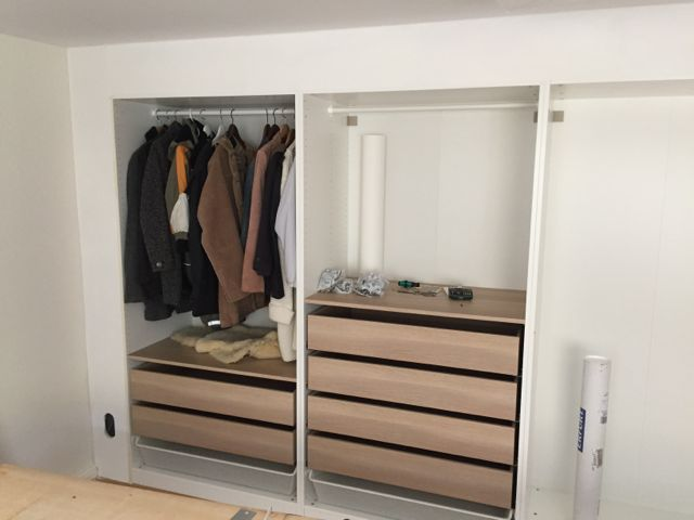 Ikea Hack Built In Wall Of Wardrobes They Even Put