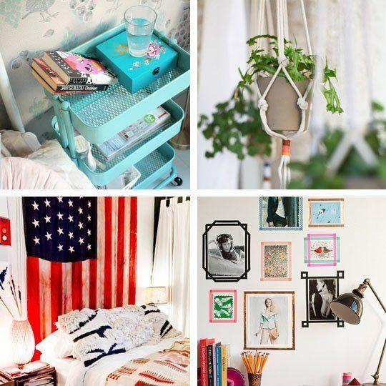 25 Creative DIY Ideas Decorating Tips For Your Dorm Room DIY