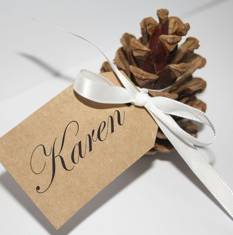 Autumn Wedding Favours Ideas