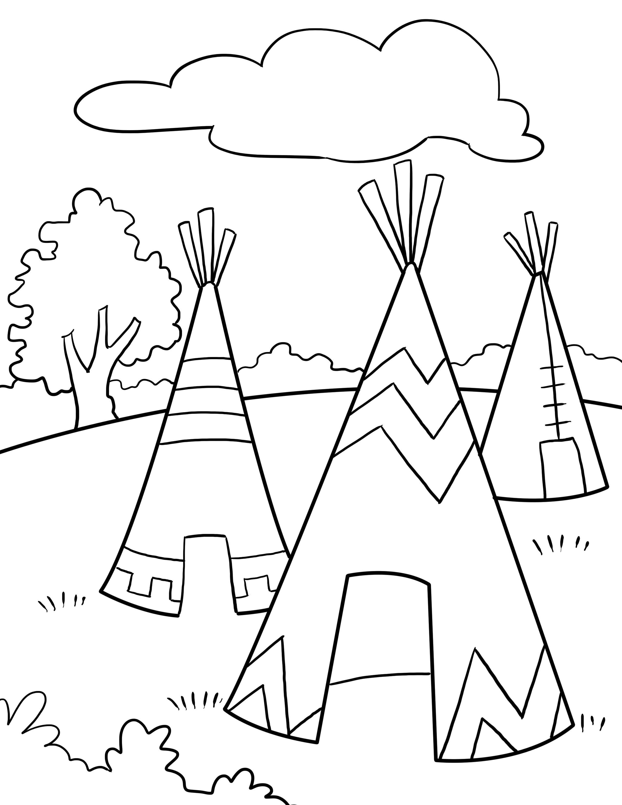 Worksheet Native American Lessons