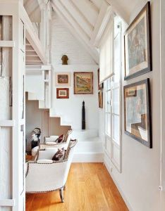 Radiant attic apartment transformed in spain kind design kindesign also stairways ideas stair home house decoration decor indoor rh pinterest