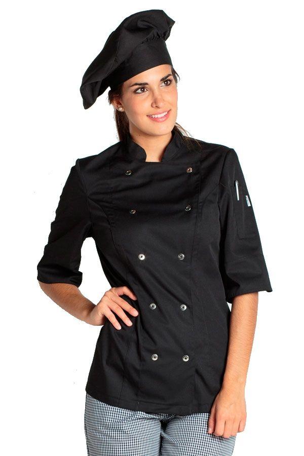 Como hacer una chaqueta de chef para mujer  Chaquetas de