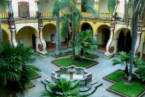 Mexican Vista Superior Patio Ideas Image Southwest Landscape