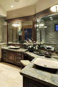 30 Bathrooms with L-Shaped Vanities | Bathroom vanities ...