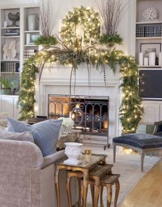 absolutely fabulous christmas mantel decorating ideas also rh pinterest