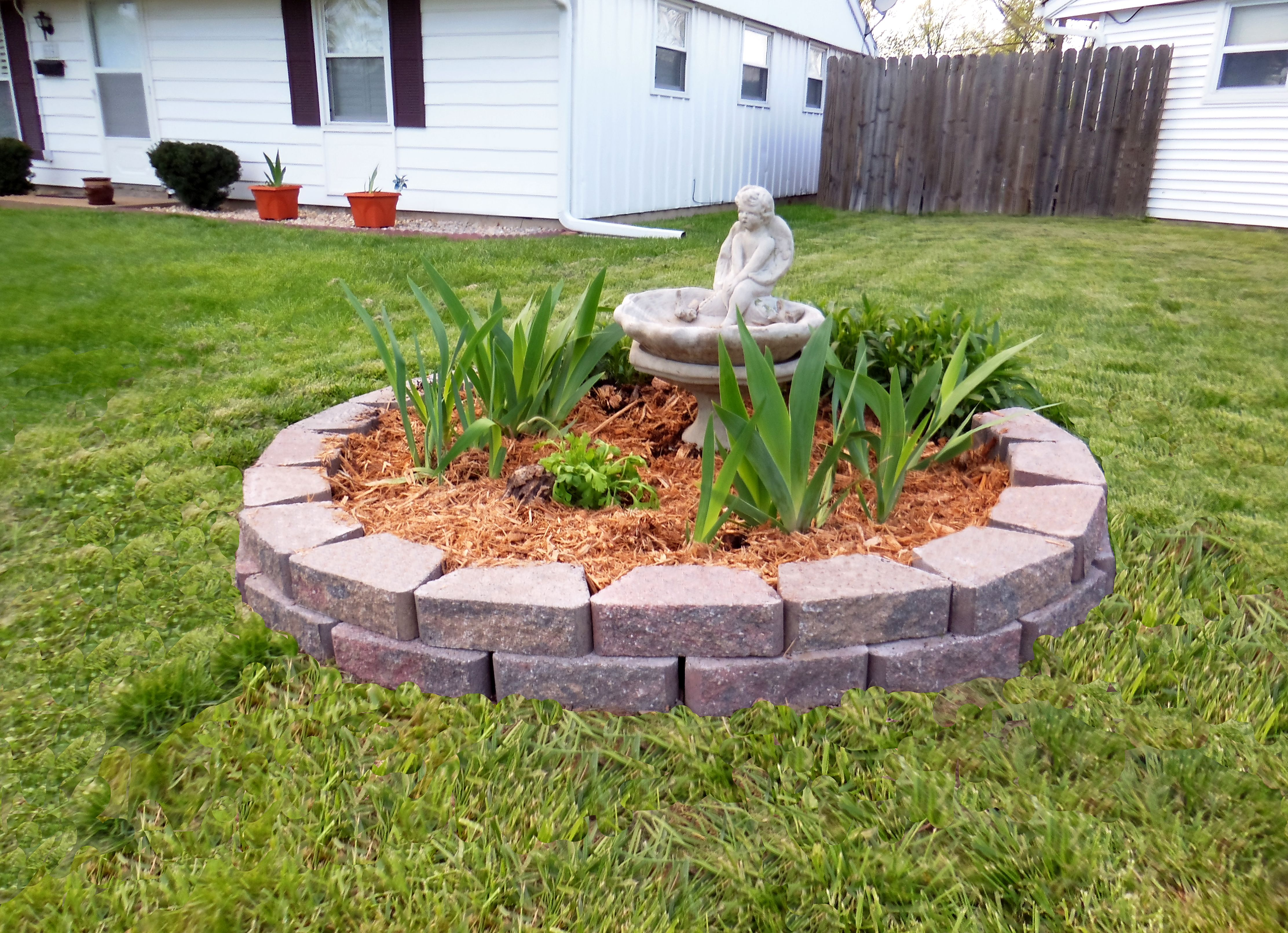 Landscaping Around Tree Stump Google Search Landscaping