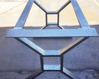 Patas de la horquilla Moderna industriales patas para por DVAMetal  lmentrix  Pinterest  Moderno Mesas y Comedores