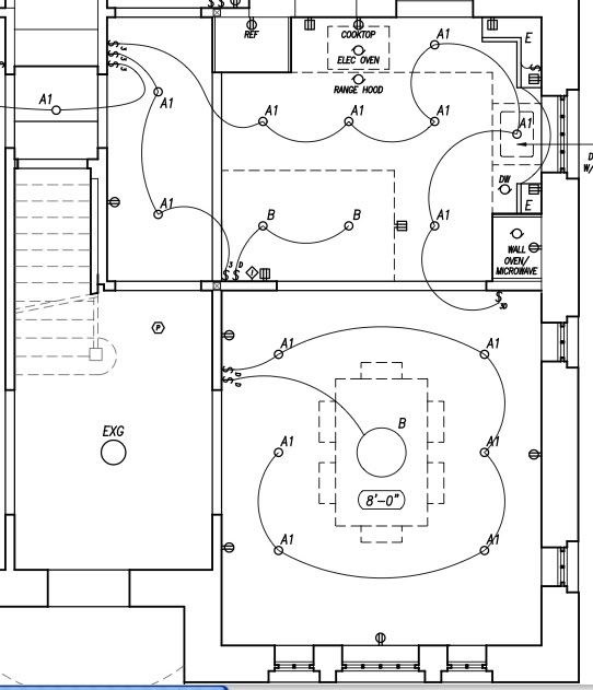 Electrical Layout Legend
