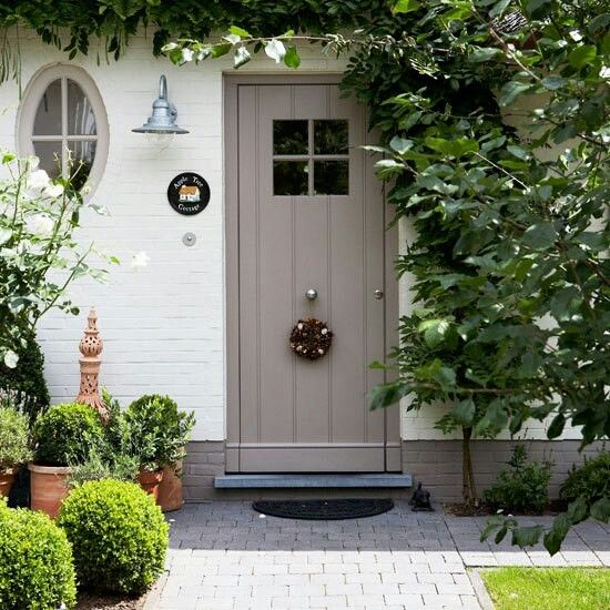 Best 25 Cottage Front Doors Ideas On Pinterest Cottage Front Garden External Doors And Gray