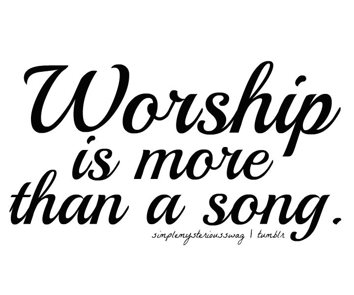 Worship should be reserved for God alone (Luke 4:8