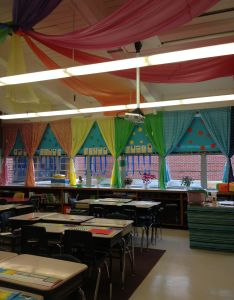Another picture of my colorful classroom also second grade rh pinterest