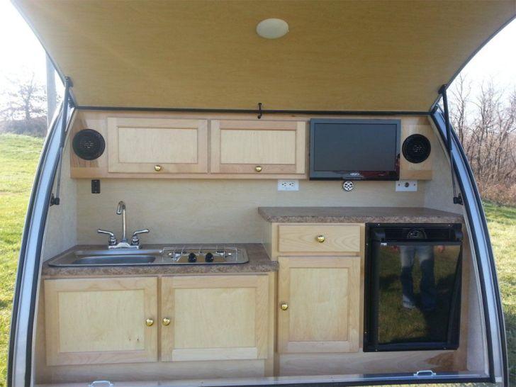 Diy Outdoor Kitchen Kitchens Fun Small Trailer