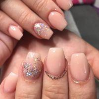 Short coffin shapes nails | nails | Pinterest | Shapes ...
