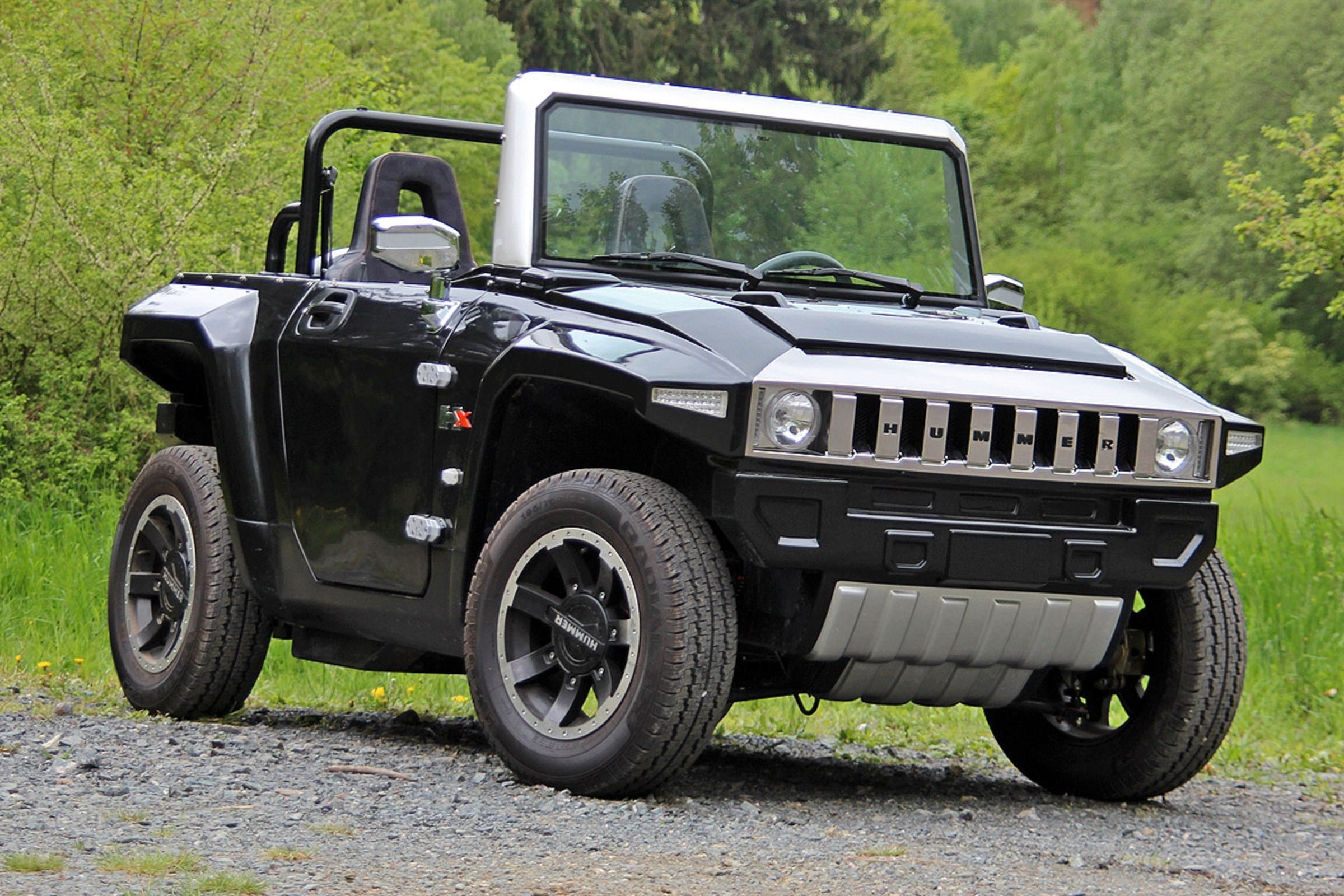 The MEV Hummer HX™ T Topless Price £15 950 incl VAT