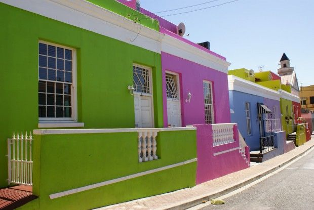 Colores fuertes para fachadas de casa  Arquitectura