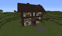 German Style House Minecraft