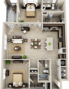 Bennett bedrooms bathrooms sq ft bedroom floor plans apartment plantiny also rh pinterest