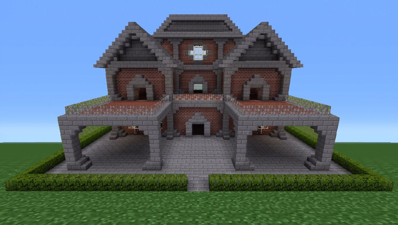 Minecraft Houses Minecraft Tutorial Brick House 6 YouTube