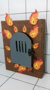 Craft idea for Shadrach, Meshach, and Abednego in the ...