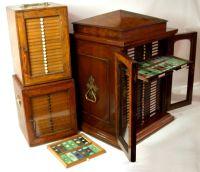 Antique Victorian Microscope Slides - Slide Accessories ...