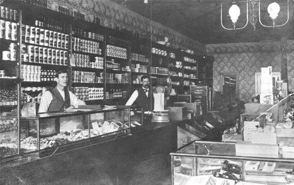 Mercantile Store Circa 1900 Wichita Httpwww