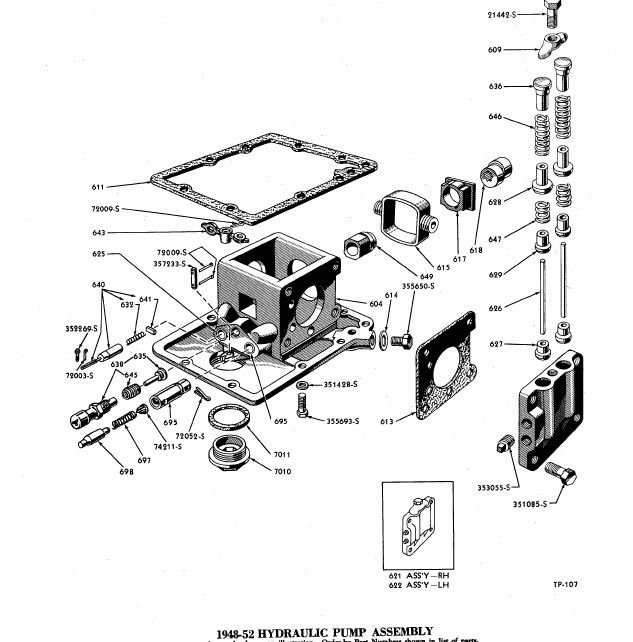 1700 Ford Tractor Steering Parts Diagram. Ford. Auto