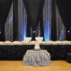 Chair Covers Cheap Rental Karma Living Butterfly Black, Silver And Crystal Backdrop | Lighting & Draping Pinterest Backdrops, Crystals ...