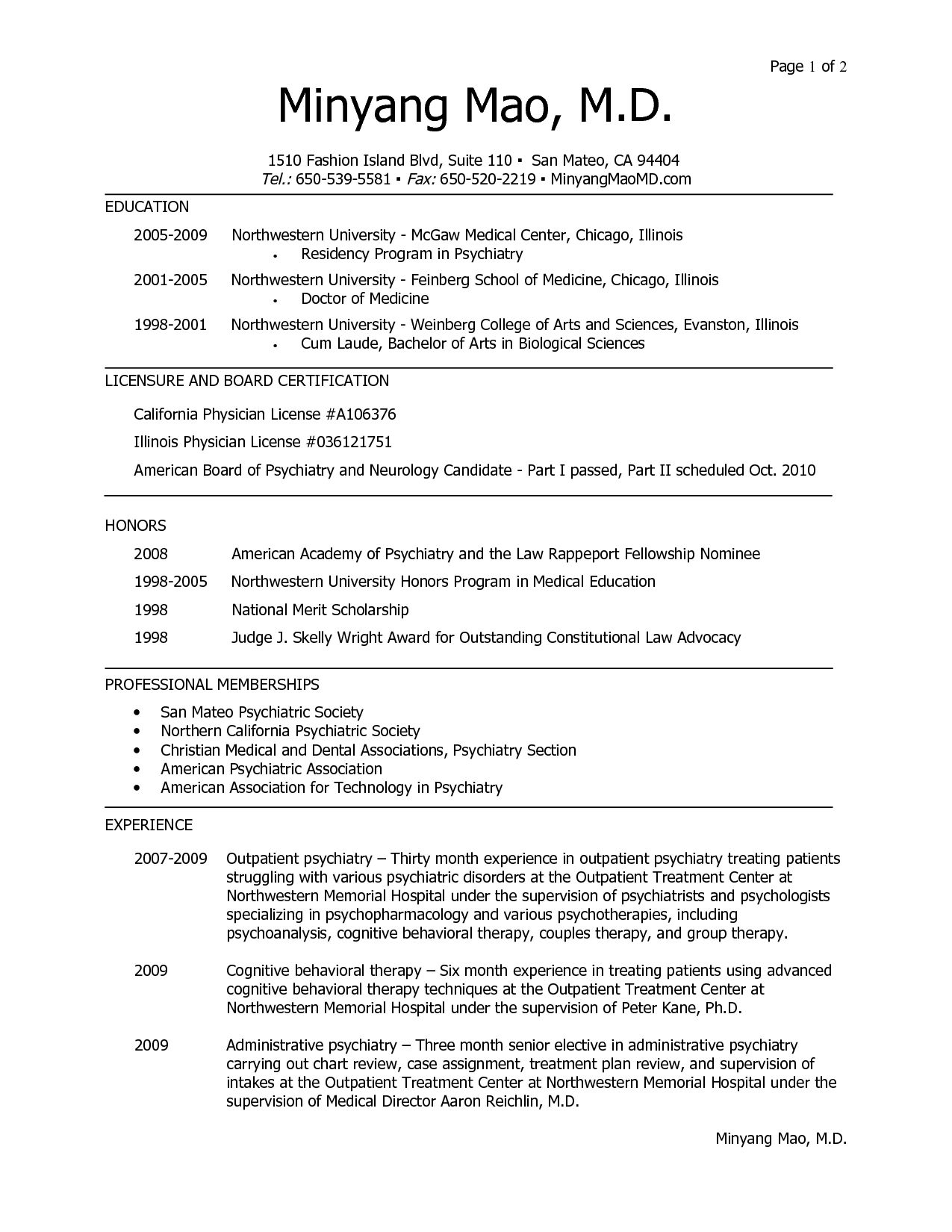 Resume Examples Healthcare Medical School Resume Template Medical School Resume
