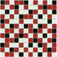 Glass Mosaic Tile Backsplash Celestial Blue 1x1 | Glass ...