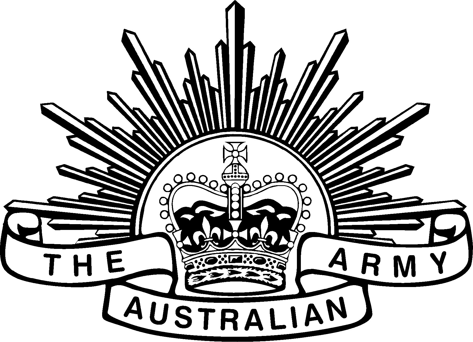 Image result for line drawing of australian army rising